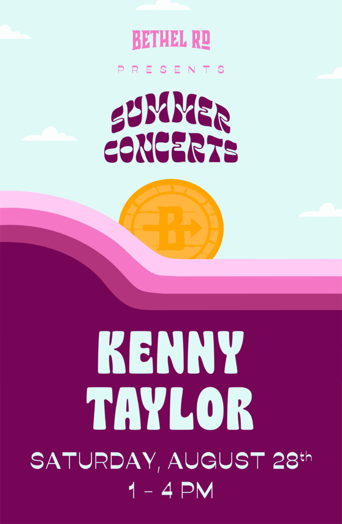 image for Bethel Rd. Summer Concerts : Kenny Taylor