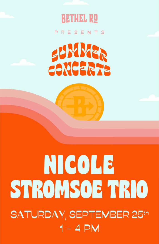 image for Bethel Rd. Summer Concerts : Nicole Stromsoe Trio