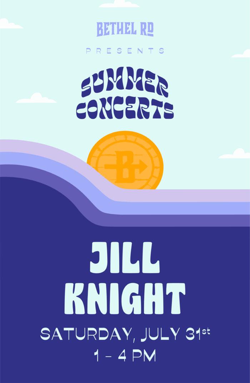 image for Bethel Rd. Summer Concerts : Jill Knight