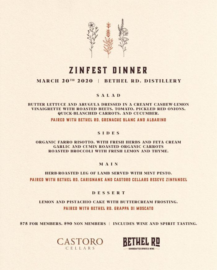 image for Zinfest Kick Off Dinner
